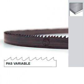 Lame de scie à ruban métal PAE 1440 x 13 x 0,65 x 10/14 TPI N pas variable - Bi-métal M42 - Forezienne
