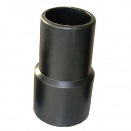 Embout à visser de tuyau flexible d'aspiration EVA Spécial électroportatif D. 38 mm - DW-257258014 - fixtout