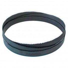 Lame de scie à ruban métal PAE 1550 x 13 x 0,65 x 10/14 TPI N pas variable - Bi-métal M42 - fixtout