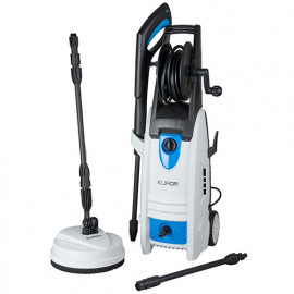 Nettoyeur haute pression semi-professionnel 140 bar 400L/H + accessoires - 230 V 1800W - Force 1800 - 135336 - Eurom