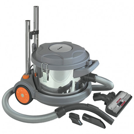 aspirateur poussi res compact et silencieux 10 litres 230 v 700 w force vacuum cleaner dry. Black Bedroom Furniture Sets. Home Design Ideas