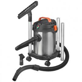 Aspirateur eau et poussières INOX 12 litres - 230 V 1000 W - Force 1012 wet-dry - 161304 - Eurom