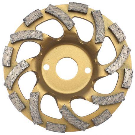 Plateau de surfaçage diamanté pro AKILA D. 125 x Al. 22,23 x Ht. 6 mm - béton, granite - fixtout Platinum