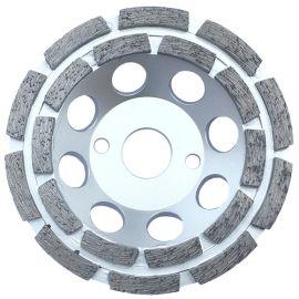 Plateau de surfaçage diamanté pro TAURUS D. 125 x Al. 22,23 x Ht. 4,8 / 5 mm - béton, granite, marbre - fixtout Platinum