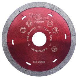 Disque diamant pro SWORD D. 115 x Al. 22,23 x Ht. 5 x ép. 1,5 mm - porcelaine, granite, marbre, ardoise - fixtout Platinum
