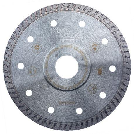 Disque diamant pro SHURIKEN D. 125 x Al. 22,23 x Ht. 7 x ép. 1,4 mm - grès cérame, granite, marbre - Diamwood Platinum