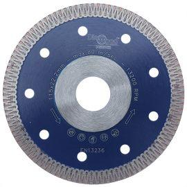 Disque diamant pro SCORPION D. 115 x Al. 22,23 x Ht. 8,5 x ép. 1,3 mm - grès cérame, granite, marbre - fixtout Platinum