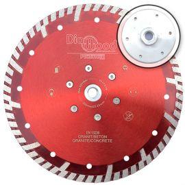 Disque diamant pro ULTRA SONIC D. 230 x flasque M14 x Ht. 10 mm - tuile, granit, béton armé - fixtout Platinum