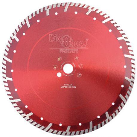 Disque diamant pro ULTRA SONIC D. 350 x Al. 25,4 x Ht. 10 mm - tuile, granit, béton armé - fixtout Platinum