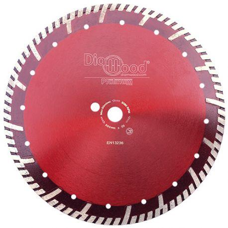 Disque diamant pro ULTRA SONIC D. 300 x Al. 20 x Ht. 10 mm - tuile, granit, béton armé - Diamwood Platinum
