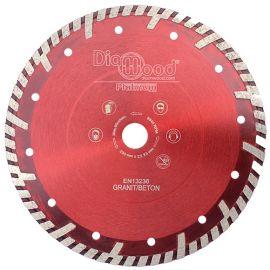 Disque diamant pro ULTRA SONIC D. 230 x Al. 22,23 x Ht. 10 mm - tuile, granit, béton armé - fixtout Platinum