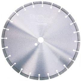 Disque diamant pro BLACK CROW D. 350 x Al. 25,4 x Ht. 10 mm - granite, marbre, pierre, béton armé - fixtout Platinum