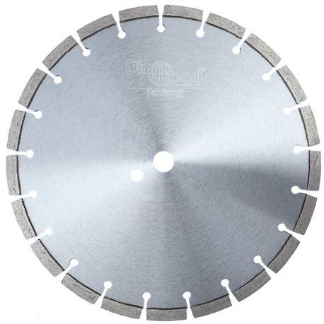 Disque diamant pro BLACK CROW D. 300 x Al. 20 x Ht. 10 mm - granite, marbre, pierre, béton armé - Diamwood Platinum