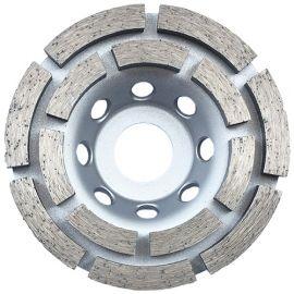 Plateau de surfaçage diamanté DINO D. 100 x Al. 22,23 x Ht. 4,8 / 5 mm - béton, matériaux de construction - fixtout