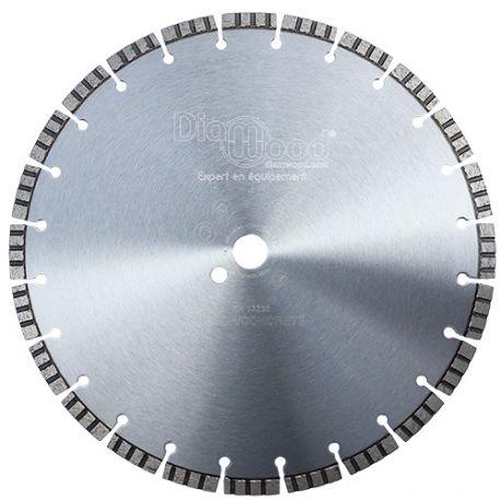 Disque diamant AQUARIUS D. 350 x Al. 25,4 x Ht. 10 mm - béton armé, béton, matériaux de construction - fixtout