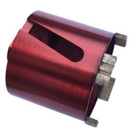 Couronne trépan diamanté à sec D. 82 x Lu. 70 mm x M16 x 4 segments - béton, béton armé, maçonnerie - fixtout