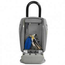 Rangement sécurisé L pour clés Select Access. Avec anse. Dim 13,5 x 10,5 x 4,6 cm - 5414EURD - Masterlock