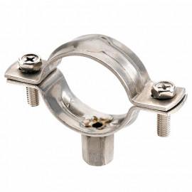 25 colliers renforcés M8-M10. Inox A4, D. 124 - 131 mm - ABREA4125 - Index