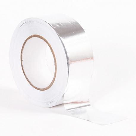 Adhésif alu 30 microns 50 M x 50 mm - fixtout