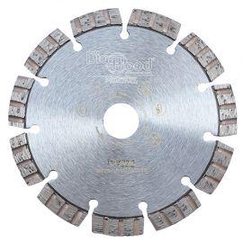 Disque diamant pro ODIN D. 140 x Al. 22,23 x Ht. 10 mm - béton armé, granite, matériaux de construction - fixtout Platinum