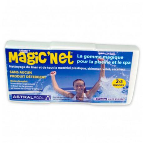 gomme ponge de nettoyage liner boite de 3pcs magic 39 net 44616 astralpool. Black Bedroom Furniture Sets. Home Design Ideas