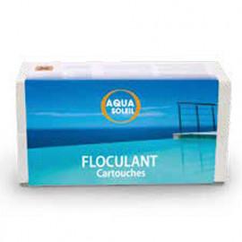 Floculant piscine 8 cartouches de 125 gr - 704301 - Aqua Soleil