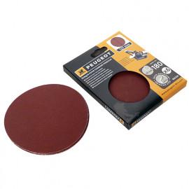 6 disques abrasifs auto-agrippants D. 127mm - Grain 180 pour ENERGYSAND 25T - 806296 - Peugeot
