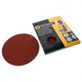 6 disques abrasifs auto-agrippants D. 200 mm - Grain 40 pour ENERGYSAND 200ASP - 806315 - Peugeot