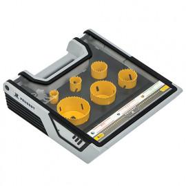 Mallette scies cloches bi-métal 8 pcs D. 19 à 67 mm - 982216 - Peugeot