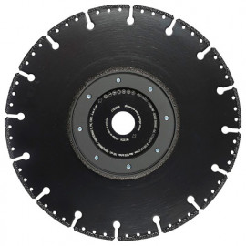 Disque diamant à chanfreiner - couper ULTRA PMF D. 125 x Al. 22,23 x Ht. 3 mm Fonte / Acier / PVC - 11130138 - Sidamo