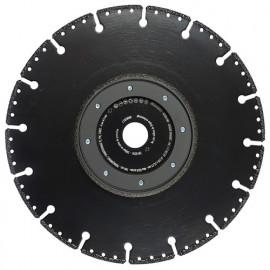 Disque diamant à chanfreiner - couper ULTRA PMF D. 230 x Al. 22,23 x Ht. 3 mm Fonte / Acier / PVC - 11130139 - Sidamo
