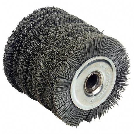Brosse nylon D. 120 x Al. 19,5 x ép. 100 mm pour REX120 - 110872 - Fartools