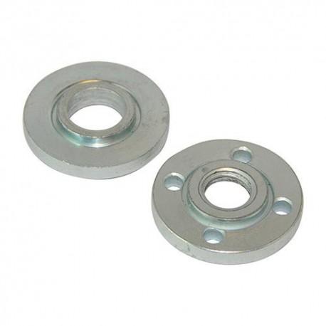 Jeu de flasque de centrage et serrage M14 pour meuleuse - 101421 - Silverline