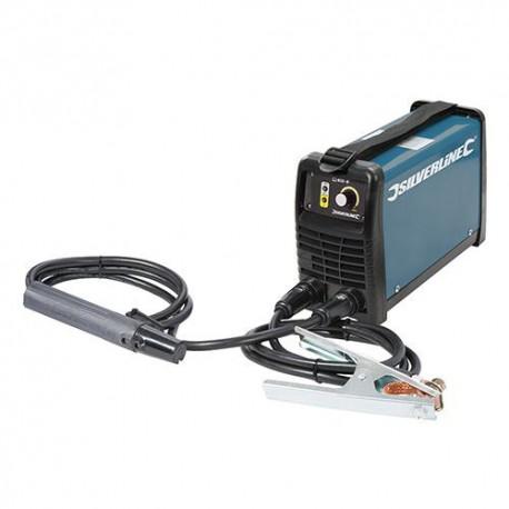 Poste à souder à l'arc électrique MMA / TIG 20 - 200 A avec onduleur - 103597 - Silverline