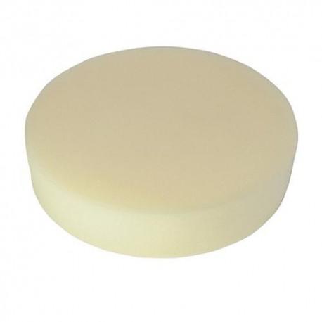 Éponge de polissage beige D. 125 x 38 mm auto-agrippante très tendre - 105812 - Silverline