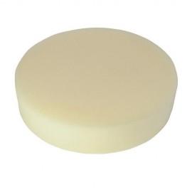 Éponge de polissage beige D. 180 x 38 mm auto-agrippante très tendre - 105816 - Silverline
