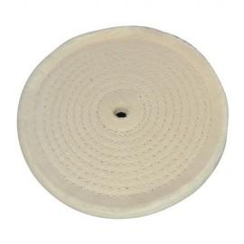 Disque de polissage couture en spirale D. 150 mm - 105888 - Silverline