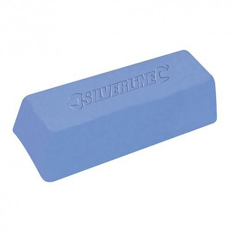 Pâte à polir bleue 500 g - 107879 - Silverline