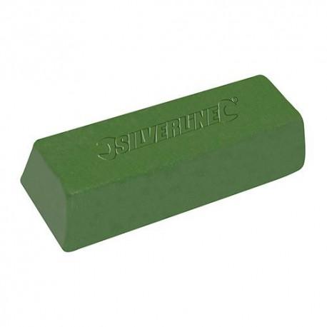 Pâte à polir verte 500 g - 107889 - Silverline