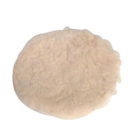 Bonnet de polissage auto-agrippant en laine d'agneau 180 mm - 107974 - Silverline