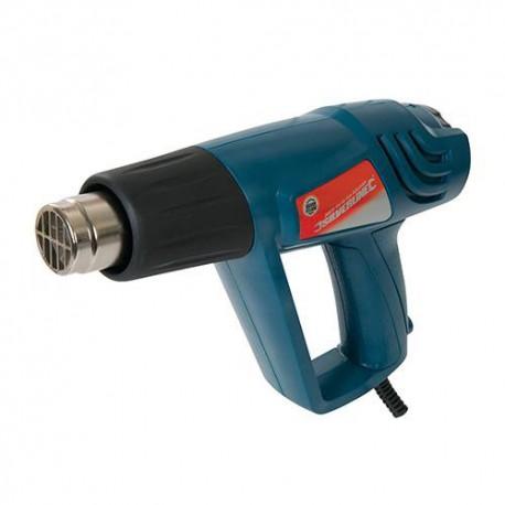 Pistolet décapeur 600 °C électrique 2000 W Silverline - 125963 - Silverline
