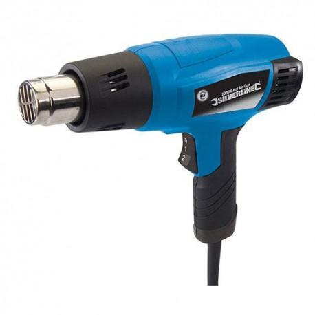 Pistolet décapeur 550 °C électrique 2000 W Silverline - 127655 - Silverline