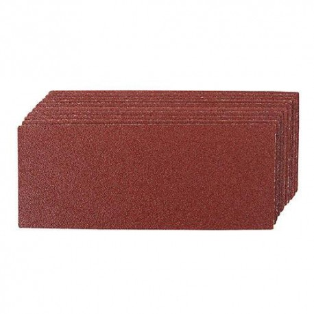 10 feuilles abrasives non-perforées 93 x 230 mm Grain 240 - 128139 - Silverline