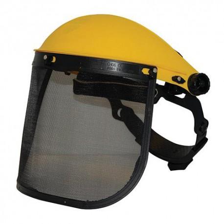 Visière de protection grillagée - 140868 - Silverline