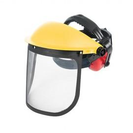 Visière grillagée de forestier avec casque anti-bruit - 140878 - Silverline