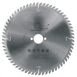 Lame de scie circulaire HM finition D. 255 x Al. 30 x ép. 3,2/2,2 mm x Z80 TP Neg pour Alu/bois - fixtout
