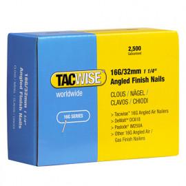 Boîte de 2500 clous de finition à angle de type 16G L. 32 mm - TA-0769 - Tacwise