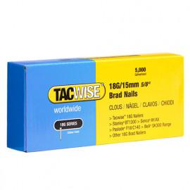 Boîte de 5000 clous de finition de type 18G L. 15 mm - TA-0394 - Tacwise