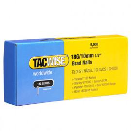 Boîte de 5000 clous de finition de type 18G L. 10 mm - TA-0392 - Tacwise