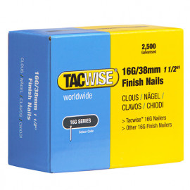 Boîte de 2500 clous de finition de type 16G L. 38 mm - TA-0296 - Tacwise